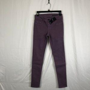 Black Orchid Light Purple Skinny Jeans